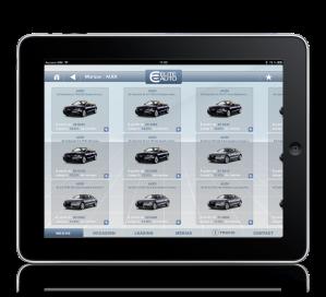 Eliteauto iPad onglet neuve