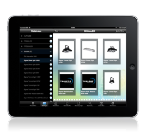 Application iPad pour commerciaux